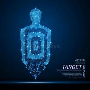 Shooting Range Target Stock Illustration  Illustration Of
