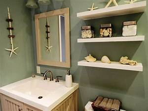 Beach themed bathrooms for inspiration for Kitchen cabinets lowes with sea themed wall art