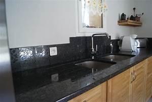 Plan De Travail Granit : marbrerie romero plan de travail granit ~ Dailycaller-alerts.com Idées de Décoration
