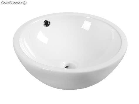 vasque 224 poser en c 233 ramique avec trop plein 430x430x170 serie ceramsobol