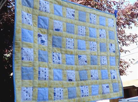 easy flannel baby quilt favequiltscom
