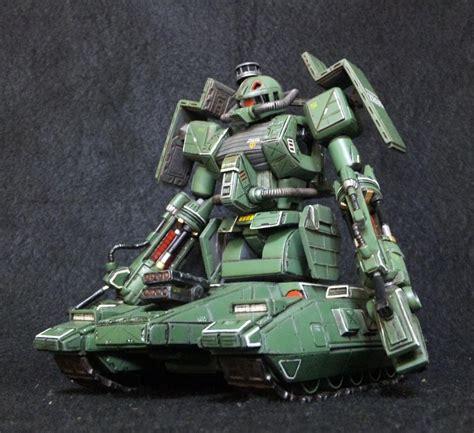 msv ms   zaku tank green makaku custom work full