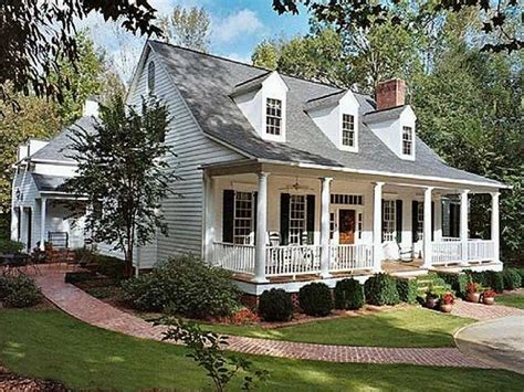 Southern Style Porches by Revival House Plans Southern Living House Plans With