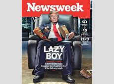 The latest Newsweek cover is brutal on Trump
