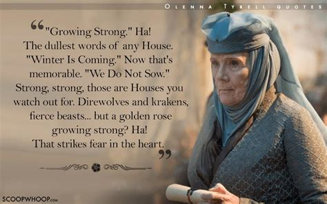 quotes  olenna tyrell  prove  words cut deeper