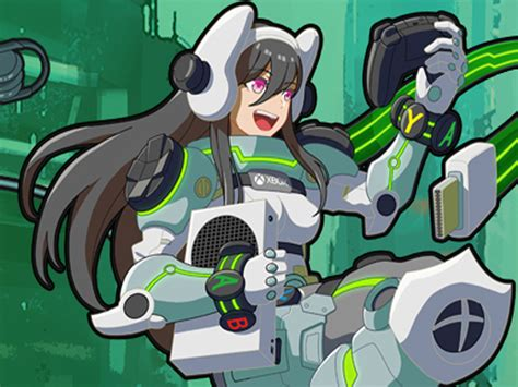 Microsoft Made An Official Xbox Anime Girl For Tokyo Game