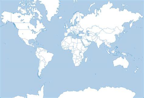 Carte Du Monde Gratuite Vectorielle by Monde Silhouette Carte Vectorielle Tlchargement Gratuit De
