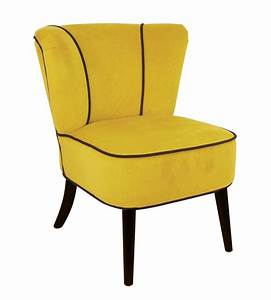 Fauteuil crapaud jaune aspect velours so skin for Fauteuil crapaud jaune