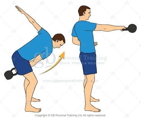 kettlebell swing single handed swings exercise exercises workouts dumbbell advanced muscles target smart turkish kettlebellsworkouts