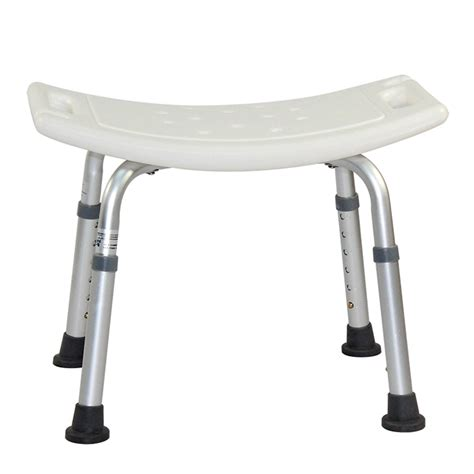 shower chair adjustable 6 height bath tub shower chair bench
