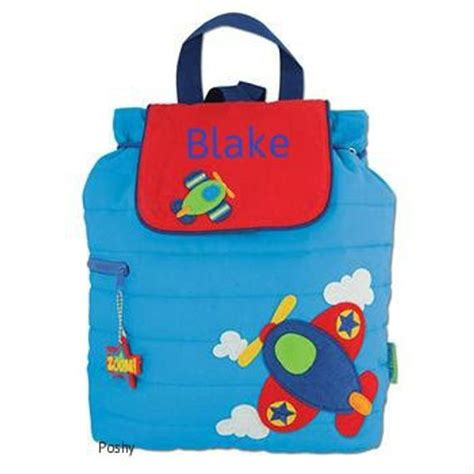 personalized boy backpack  baby diaper bag stephen joseph