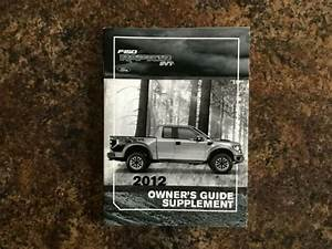 2012 Ford F150 Svt Raptor Owners Manual Supplement Guide
