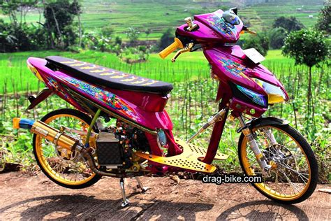 52 modifikasi vario 150 jari jari esp techno 125 cbs dan 110 racing drag bike