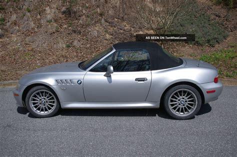 bmw 2 door convertible 2001 bmw z3 roadster convertible 2 door 3 0l money goes