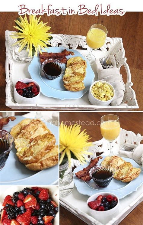 breakfast in bed ideas breakfast in bed ideas mother s day father s day ideas pinterest