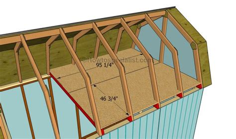 8x8 slant roof shed plans free gambrel roof storage shed plans