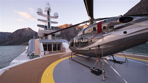 Yacht With Helicopter by Top 12 Superyacht Helicopter Decks Yacht Crew Club