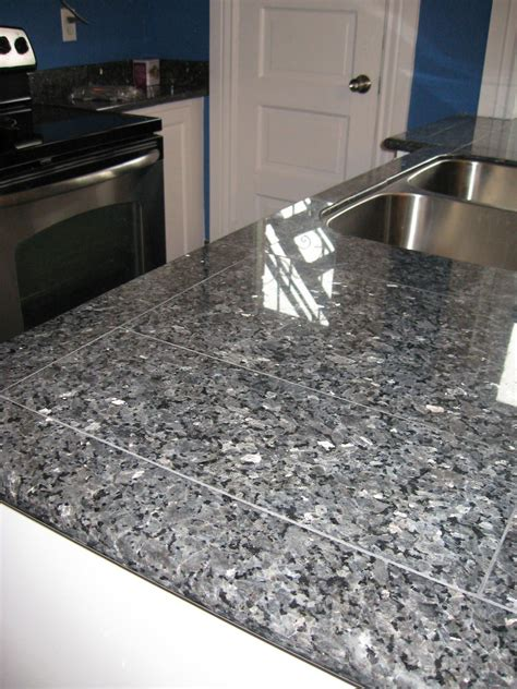 kitchen countertop finished with blue pearl lazy granite sysytem lazy granite in