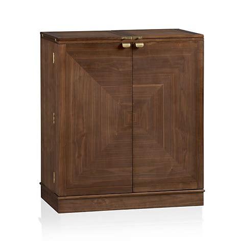 Crate And Barrel Bar Cabinet by Maxine Bar Cabinet In Bar Cabinets Bar Carts Crate And