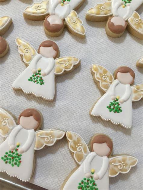 Rule number one, icing is life! Rosemarie Carroll's angel cookies   Christmas cookies ...