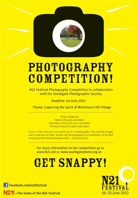 Photography Competition For N21 Festival  Denise Ryan