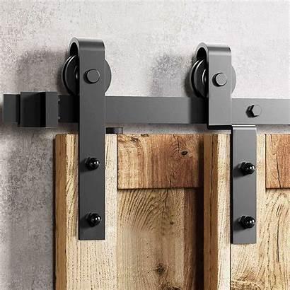 Bypass Track Single Door Barn Sliding Hardware