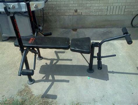Exertec Fitness Bench Espotted