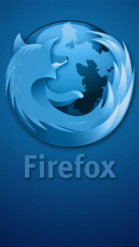 firefox for iphone firefox blue iphone 5 hd wallpapers
