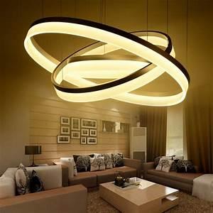 Suspension Luminaire Salon : pas cher moderne led salon salle manger lampes ~ Melissatoandfro.com Idées de Décoration