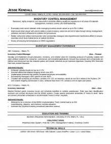 Inventory Coordinator Resume Exles by Inventory Manager Resume