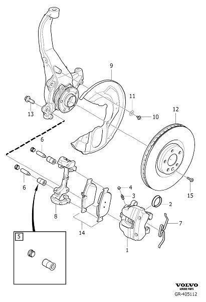 volvo brake disc brake disc kit rotors