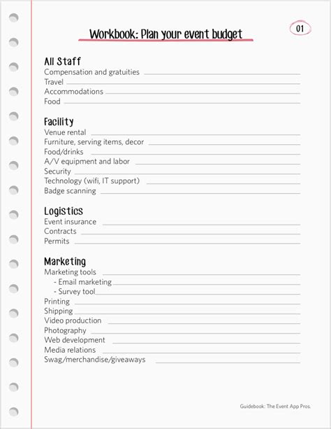 best wedding organizer book collection of event planning worksheets cockpito