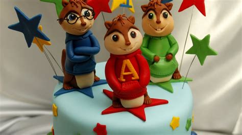 alvin and the chipmunks cake decorations amazing grace cakes alvin and the chipmunks