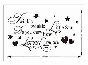 twinkle little star do you know how loved are girl39s or With best brand of paint for kitchen cabinets with twinkle twinkle little star wall art