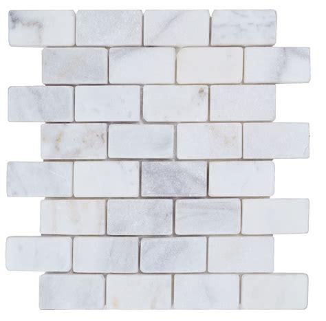 tumbled marble tile silverado gray 4x4 marble tumbled