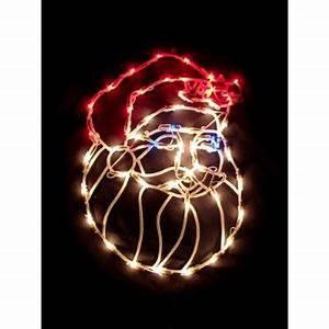 Lighted Santa Claus