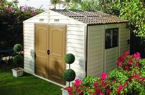 Abri De Jardin En Pvc : la maison du jardin keter cet abri en pvc est quip d ~ Edinachiropracticcenter.com Idées de Décoration