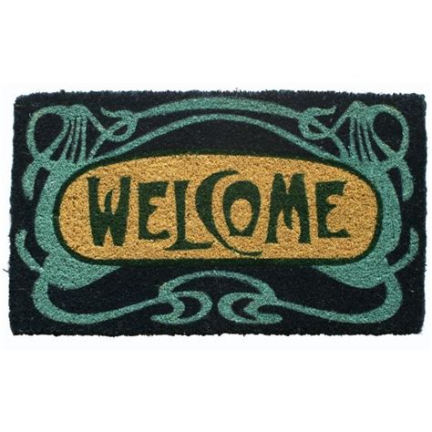 Fiber Doormat by Welcome Coconut Fiber Doormat