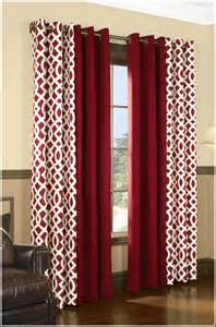 red and white striped curtain panels curtains home