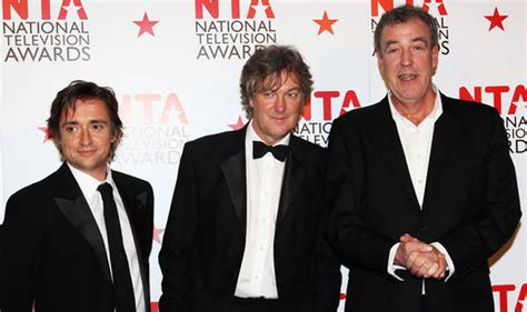 Top Gear Awards top gear nominated for tv gong as clarkson revs up