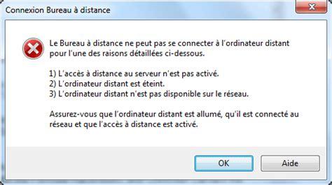 bureau à distance ou remote desktop contrôle à distance