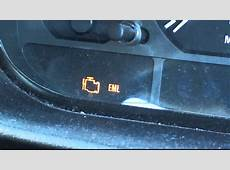 BMW E46 Engine Management Light EML YouTube