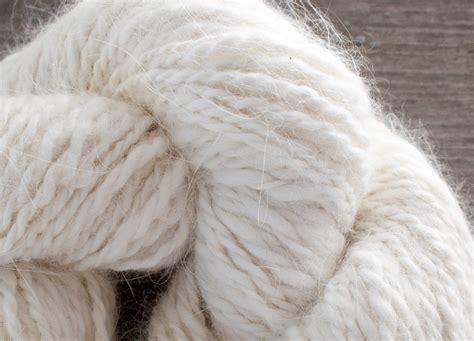 fur yarn custom handspun angora merino lambswool yarn nancy