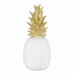 Ananas Deco Blanc : lampe veilleuse ananas blanc or goodnight light pour chambre enfant les enfants du design ~ Teatrodelosmanantiales.com Idées de Décoration