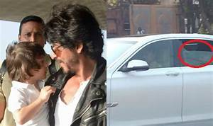 Shah Rukh Khan spotted as he drops AbRam to school! SRK ...