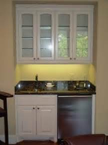 Small Bar With Refrigerator by Mini Refrigerator Cabinet Bar Foter
