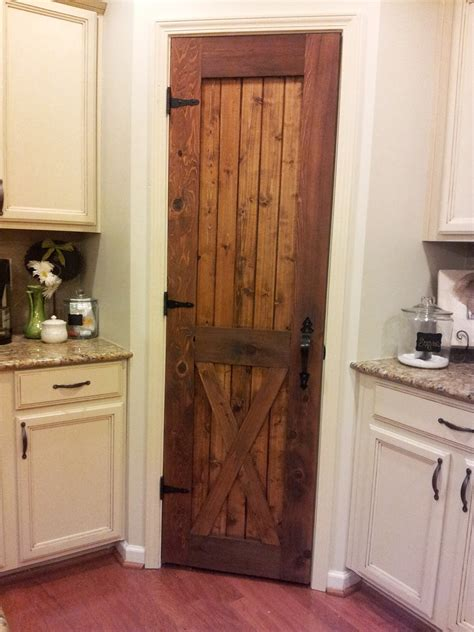 rustic pantry door on pantry doors cultured