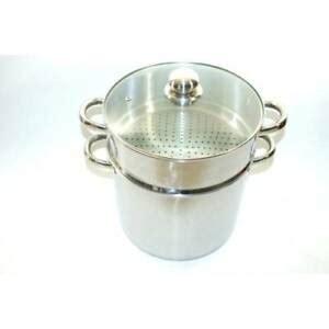 baumalu couscoussier marmite  cm   inox induction ebay