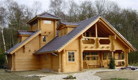 Wooden Houses : Wooden House Cheops-wd China (mainland) Prefab Houses