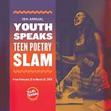 Youth speaks teen poetry slam